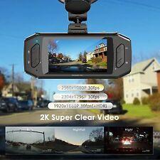 "Vantrue R2 Dash Cam 2K HD 1296P 2560x1080 2.7"" LCD 170° Wide Angle"