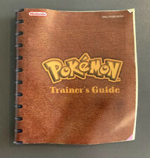 Pokemon Red / Blue - Gameboy - Trainers Guide - Instruction Booklet - Nintendo