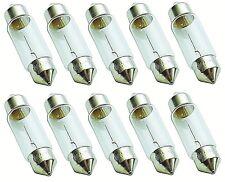 10 STÜCK C5W 5W 12V SV8,5 36mm Soffitte Glüh Lampe Kennzeichen Birne