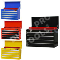 LARGE LIGHTWEIGHT TOOL CHEST WITH KEY LOCK AND  4 DRAWS