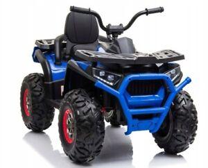 Quad 900 4x4 Off Road, 4 Motoren Kinderauto Kinderfahrzeug Elektroauto blau