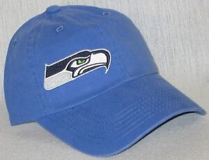 Seattle Seahawks LADIES CAP ~HAT ~CLASSIC NFL PATCH/LOGO ~FADED BLUE ~NEW ~HOT!!
