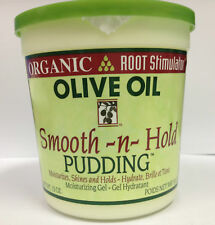 [ORGANIC ROOT STIMULATOR] OLIVE OIL SMOOTH -N- HOLD PUDDING 13OZ