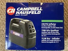 Campbell Hausfeld Cordless Portable Rechargeable Inflator 12-Volt Power Outlet