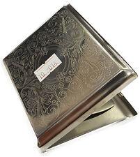Metal Cigarette Holder Case - Tobacco Smoking Gift #10-014