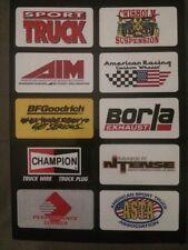 Truck Decals Trailer Mancave Tool Box Race Car 10 ASTA NASCAR NHRA Stickers New