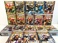 Power Rangers Dino Charge Kyoryuger Mini Pla All Megazord 18 Complete set NEW
