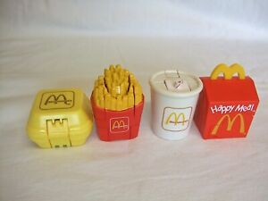 McDonalds Happy Meal Changeable / Transformers x 4 From 1990