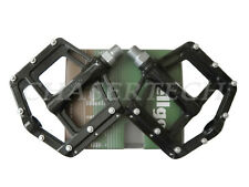 "New Wellgo MG-21 BMX Bicycle Bike Magnesium Pedals 9/16"" Black"