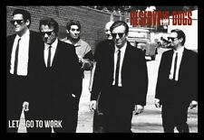 (FRAMED) RESERVOIR DOGS MOVIE POSTER 96x66cm PRINT PICTURE HOME DECOR
