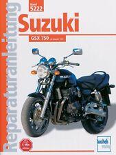 SUZUKI GSX 750 ab 1997 Reparaturanleitung Reparatur-Handbuch Reparaturbuch