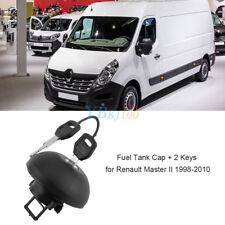 Truck Fuel Petrol Diesel Locking Cap Cover w/2 Keys for Renault Master II 98-10