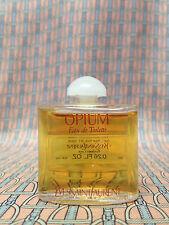 Vintage 1980s YSL Opium FULL .26 oz 7.5 ml Eau de Toilette Miniature OLD FORMULA