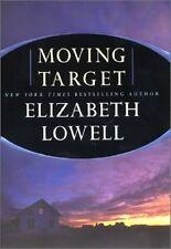 Moving Target: Rarities Unlimited #1 - Elizabeth Lowell HC VGC Suspense Passion