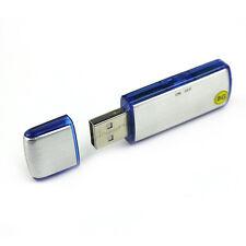 Mini 8GB Digital Diktiergerät Aufnahmegerät Audio Voice Recorder USB Stick