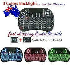 i8Mini 2.4G 3 BACKLIT Colours Wireless Mouse Keyboard Touchpad PC/Android TVbox