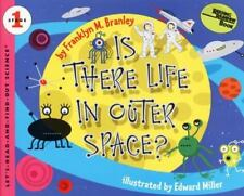 Let's-Read-And-Find-Out Science: Is There Life in Outer Space? NEW Paperback