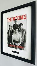 The Vaccines-Framed Original NME-Plaque-Certificate-NEW-Come Of Age-UNIQUE