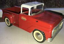 "Vintage TONKA Pressed Steel Red Pick Up Truck - 12.75"" Long"