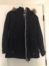 Womens Black Obermyer Ski Jacket