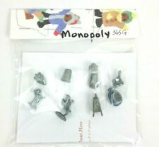 Metal Monopoly playing pieces 8