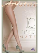 Aristoc 10d Ultimate Matt Tights Black