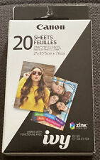 Canon Zink 2x3 Glossy Photo Paper - 20 Sheets🎞📸