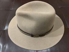 Stetson Luke Traveler VitaFELT Men's Hat Beige Size 7