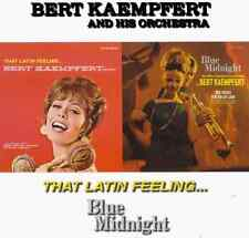 "BERT KAEMPFERT ""That Latin Feeling/Blue Midnight"" (CD 1997) 24-Tracks VERY GOOD"