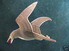Shetland Pájaro Broche De Plata De Ley-H/m 1982 de Edimburgo Escocia