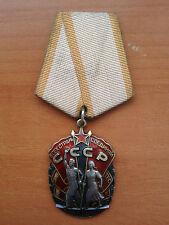 Russia Soviet Socialist Order Badge of Honor USSR Silver Medal Type 4 Var2 Orden