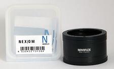 Novoflex adaptador Nex/om Olympus om en Sony NEX Nex/om ***