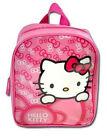 Sanrio Hello Kitty Toddler Girls Kids Preschool Mini Backpack Bag - Pink NWT 3+