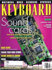 1994 SOUNDCARDS, KURZWEIL PC88 ROLAND TDE-7K Reviews, PHISH Keyboard Magazine