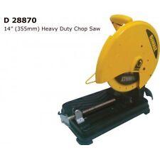 "DEWALT D28870 355MM 14"" HEAVY DUTY CHOP SAW - Manufacturers Warranty"