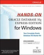 Oracle Press: Hands-On Oracle Database 10g Express Edition for Windows by...