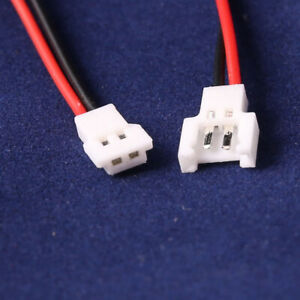 JST-DS LOSI 2.0MM 2-Pin Connector plug male female with Wire 10pairs