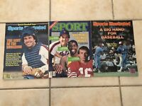 1981 Sports Illustrated MONTREAL EXPOS Gary Carter Lot NEW YORK METS No Label