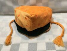 CHEESE HEAD Wisconsin Plush Zoo Zatz Hat