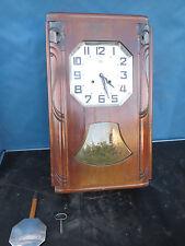 Horloge pendule odo carillon westminster Art Deco