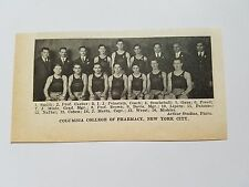 Columbia College of Pharmacy & Brooklyn COP 1930-31 Basketball Team Picture