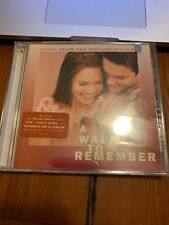 A Walk to Remember by Original Soundtrack (CD, Jan-2002, Sony) | Sealed New