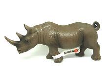 S6)  Schleich 14394 Nashorn RAR Schleichtier Wildlife Schleichtiere