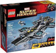 LEGO 76042 Marver Super Heroes Shield Helicarrier - Brand New Sealed