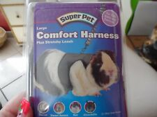 Super pet Travel Comfort Harness plus stretchy leash size large red and gray