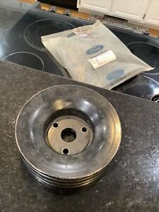 1965-1967 ford 3 row FE lower crank pulley C5AE-D