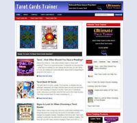 TAROT CARDS BLOG & WEBSITE WITH AFFILIATE STORE & BANNERS + DOMAIN & HOSTING
