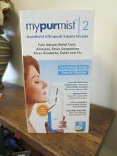 New! MyPurMist 2: Handheld Ultrapure Steam Inhaler for Sinus Relief  (5345)