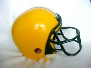 VINTAGE GREEN BAY PACKERS FRANKLIN NFL FOOTBALL REPLICA HELMET YOUTH TAIL GATE