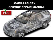 CADILLAC 2004 2005 2006 2007 2008 SRX FACTORY SERVICE REPAIR WORKSHOP FSM MANUAL